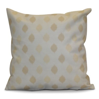 Hanukkah 2016 Decorative Holiday Geometric Throw Pillow Size: 18 H x 18 W x 2 D, Color: Cream / Off White