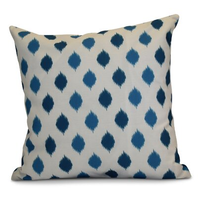 Hanukkah 2016 Decorative Holiday Geometric Euro Pillow Color: Teal