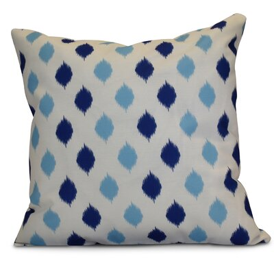 Hanukkah 2016 Decorative Holiday Geometric Euro Pillow Color: Royal Blue