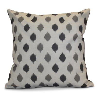 Hanukkah 2016 Decorative Holiday Geometric Euro Pillow Color: Gray