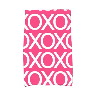 Love is in the Air Hand Towel Color: Fuschia