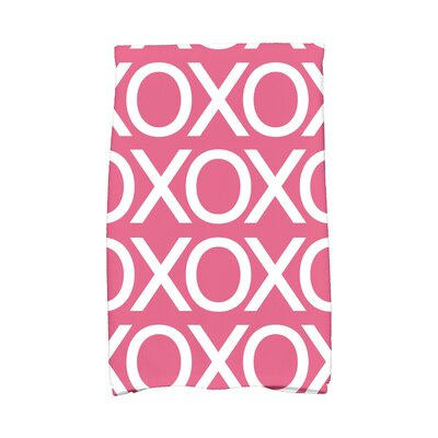 Love is in the Air Hand Towel Color: Pink