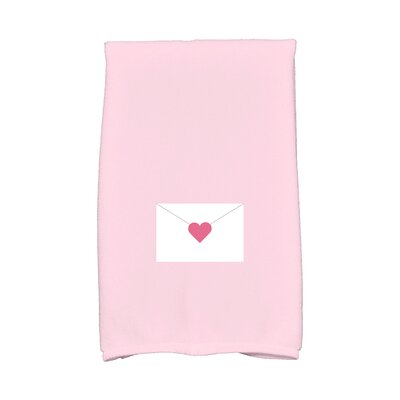 Love is in the Air Valentine Hand Towel Color: Pale Pink