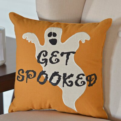 Get Spooked Throw Pillow