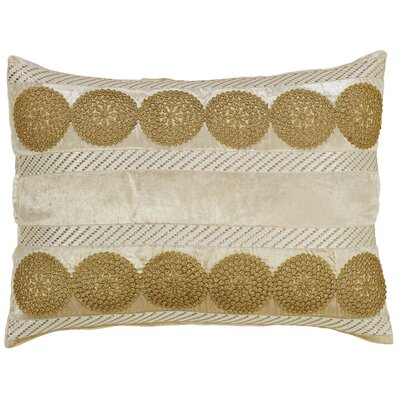 Memories Lumbar Pillow Color: Creme