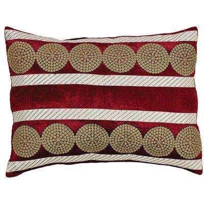 Memories Lumbar Pillow Color: Red