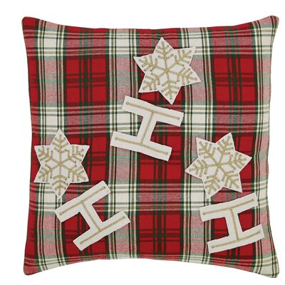 HO HO Holiday Throw Pillow