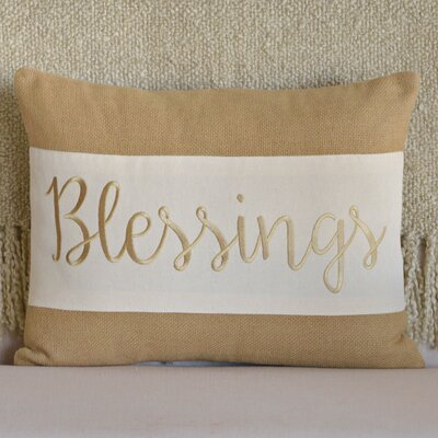 Blessings Lumbar Pillow