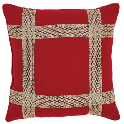 Revelry Trim Throw Pillow