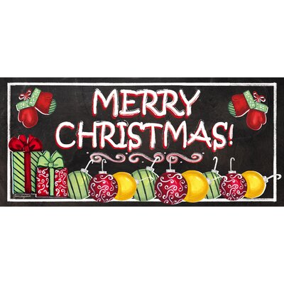 Merry Christmas Sassafras Switch Mat