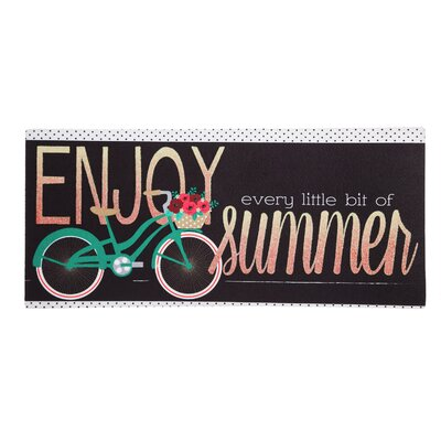 Summer Bicycle Sassafras Switch Doormat