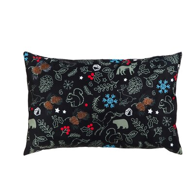 Serene Forest Patterned Indoor/Outdoor Lumbar Pillow