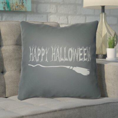 Trianguli Indoor/Outdoor Throw Pillow Size: 20 H x 20 W x 4 D, Color: Dark Gray