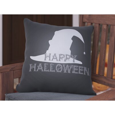 Omicron Indoor/Outdoor Throw Pillow Color: Black, Size: 18 H x 18 W x 4 D