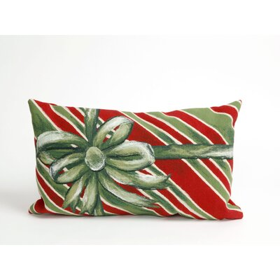 Gift Box Pillow Size: 12 x 20