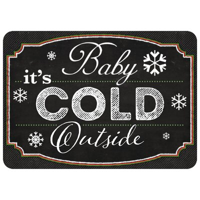 Cold Outside Kitchen Mat