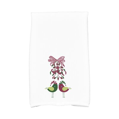 Love Birds Animal Print Hand Towel