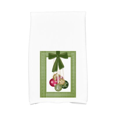 Frame It up Hand Towel Color: Green