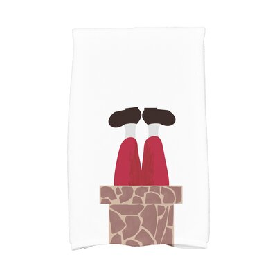 Away He Goes Hand Towel Color: White