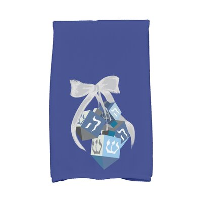 Turn Hand Towel Color: Blue