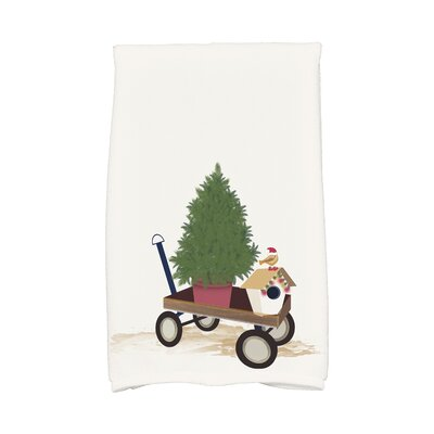 Take Me Home Hand Towel Color: White