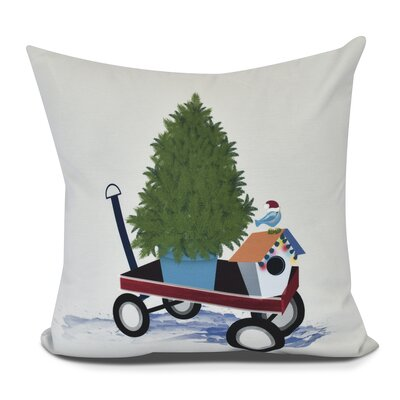 Take Me Home Euro Pillow Color: Light Gray