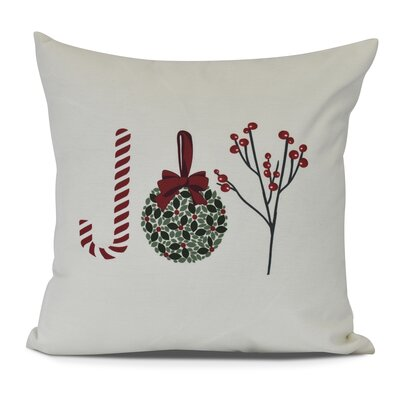 Oh Joy! Throw Pillow Size: 18 H x 18 W