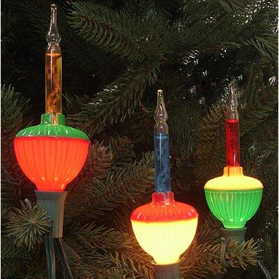 7 Light Retro Christmas Bubble Light String