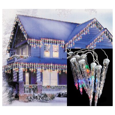 6 Dripping Icicle Shape Light Christmas Lights HLDY7566 37935297