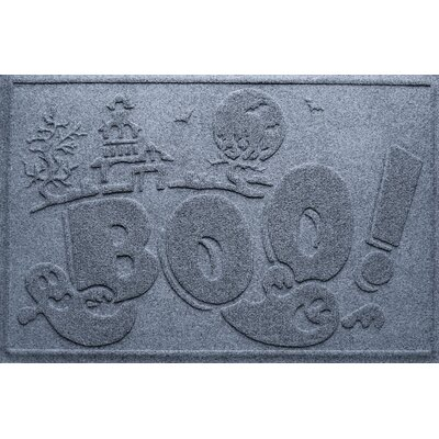 Aqua Shield Boo Ghost Doormat Color: Bluestone