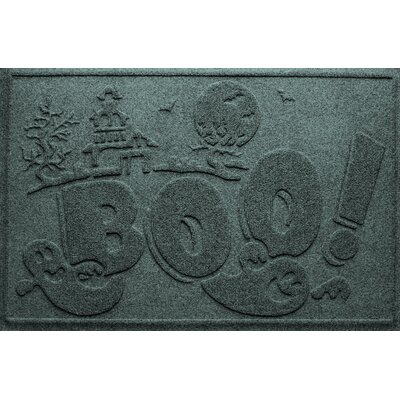 Aqua Shield Boo Ghost Doormat Color: Evergreen