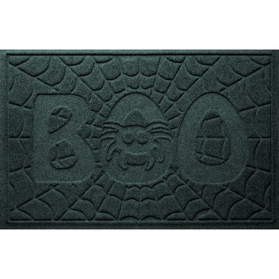 Aqua Shield Boo Spider Doormat Color: Evergreen
