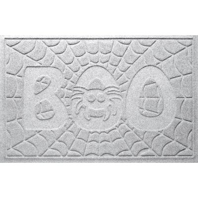 Aqua Shield Boo Spider Doormat Color: White