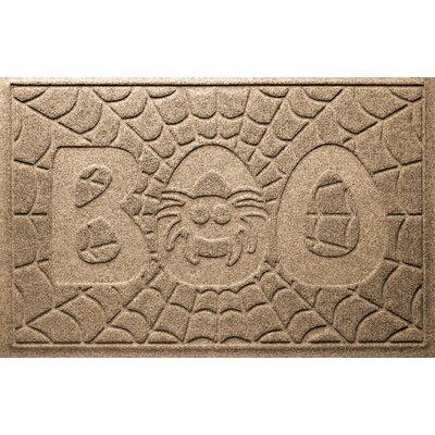 Aqua Shield Boo Spider Doormat Color: Camel