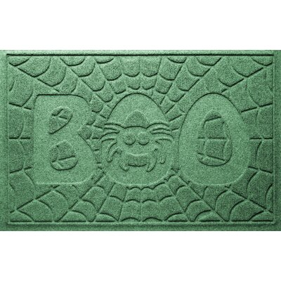 Aqua Shield Boo Spider Doormat Color: Light Green