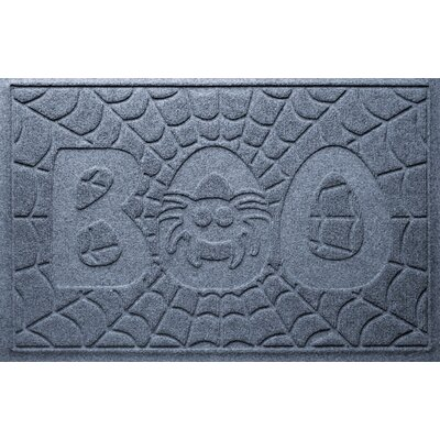 Aqua Shield Boo Spider Doormat Color: Bluestone