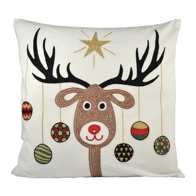 Donner Cotton Throw Pillow