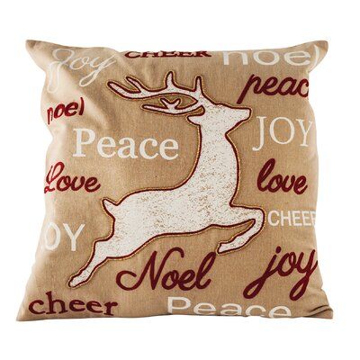Tidings Cotton Throw Pillow