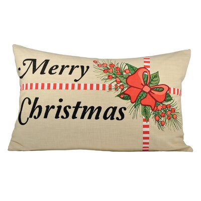 Holiday Package Cotton Lumbar Pillow