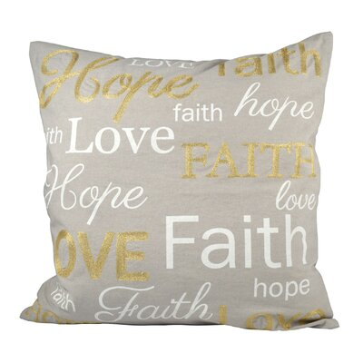 Expressions Cotton Throw Pillow