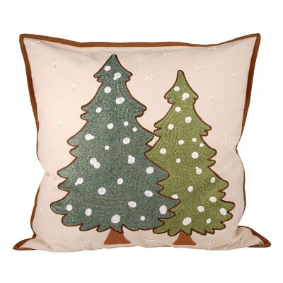 Forester Cotton Throw Pillow