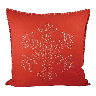 Snowridge Cotton Throw Pillow