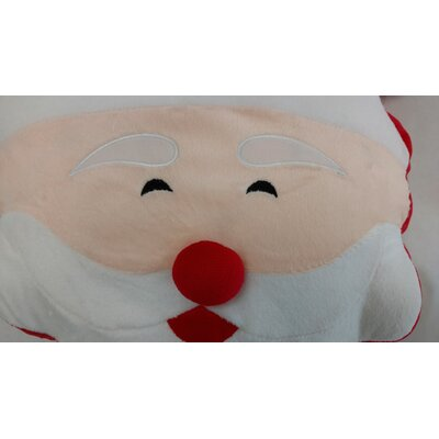 Santa Claus Microbead LED Throw Pillow