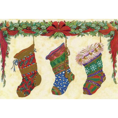 Christmas Stockings Doormat