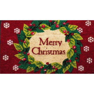 Wreath Coir Doormat