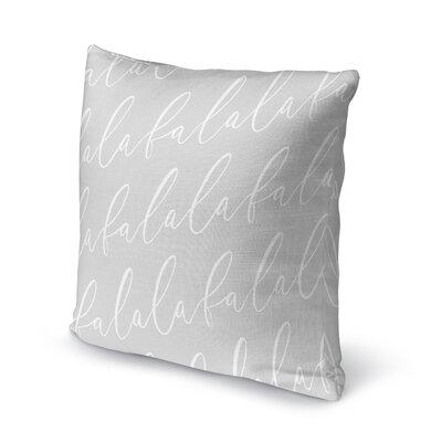 Falala Outdoor Throw Pillow Color: Dark Grey, Size: 16 x 16