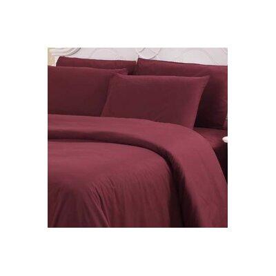 Hotel 1000 Thread Count Sheet Set Color: Burgundy