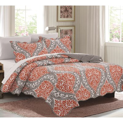 Emma 3 Piece Quilt Set Size: Queen