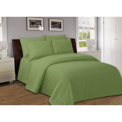 Bellefontaine 1000 Series Solid Bed Sheets Size: Twin, Color: Sage