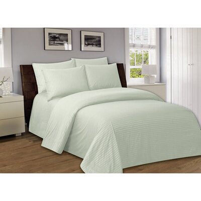 Bellefontaine 1000 Series Solid Bed Sheets Size: Twin, Color: Beige
